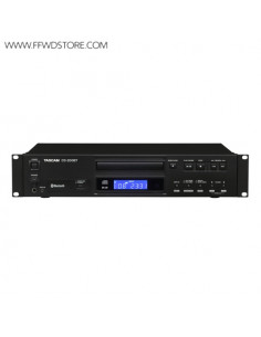 Tascam - CD-200BT CD-Player with Bluetooth Receiver function
