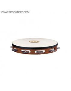 Meinl - Traditional Goat-Skin Wood Tambourines, Steel Jingles