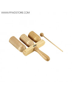 Meinl - Nino Series Wood A-Go-Go's 3 Rows