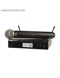 Shure - Blx24re/Sm58 Handheld Wireless System