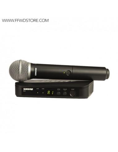 Shure - Blx24e/Pg58 Handheld Wireless System
