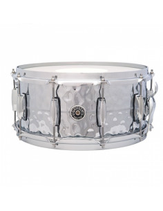 Gretsch - Usa Brooklyn 14x6.5 Snare Hammered Chrome Over Brass