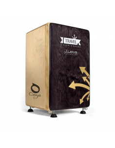 J.Leiva Percussions - Cajon Musical Omeya Travel
