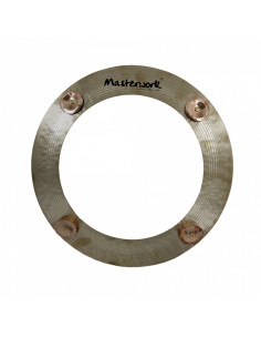 "Masterwork - Percussive Sound 14"" Jingle Ring With 4 Jingles"