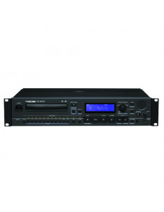 "Tascam - CD-6010 Prof.""Broadcast"" CD-PLayer, 2U and Tray type CD"