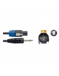 Stagg - Nsp1,5sp15r 1,5m-1,5 Cable Hp Spk-Jack Dlx