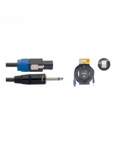 Stagg - Nsp1,5sp25r 1,5m-2,5 Cable Hp Spk-Jack Dlx