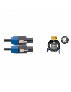 Stagg - Nsp10ss15br 10m-1,5 Cable Hp Spk-Spk 4p/2f