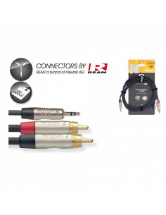 Stagg - Nyc3/Mps2cmr 3m Cable Y Minjckm St-2rcam Dl