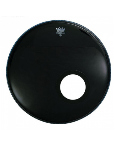"Remo - 22"" Powerstroke 3 Ebony Bass Drum Head"