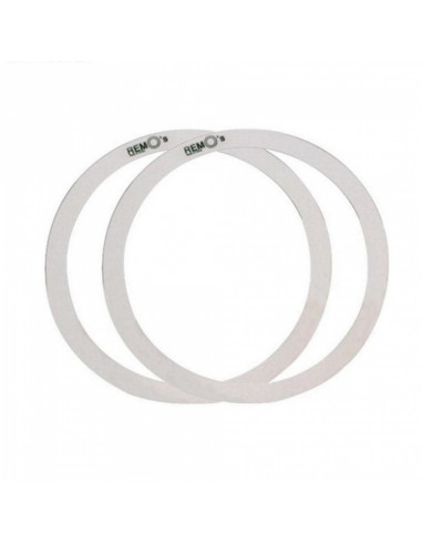 "Remo - 14"" Rem-O-Ring Set, 2 Pieces (1"" And 1""1/2) For Tom/ Snare/ Floortom"