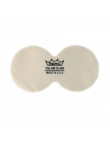 """Remo - 4"""" Double Falam Slam Pad For Bass Drum Head"""