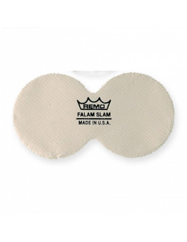 """Remo - 2.5"""" Double Falam Slam Pad For Bass Drum Head"""