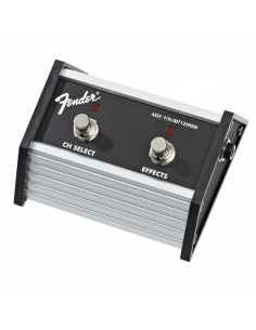 "Fender,2-Button Footswitch: Channel Select / Effects On/Off with 1/4"" Jack"