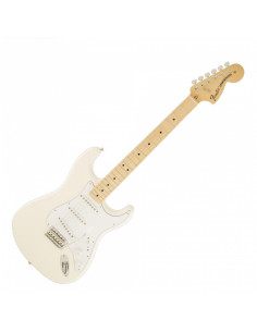 Fender - Classic Series '70s Stratocaster, Maple Fingerboard, Olympic White