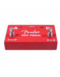 Fender -  2-Switch ABY Pedal, Red