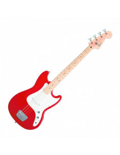 Squier - Bronco Bass, Maple Fingerboard, Torino Red