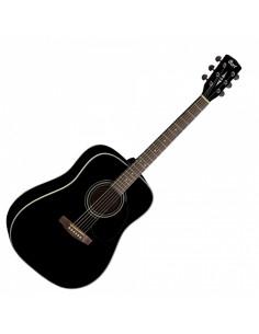 CORT - Earth70 BKS Black Satin Acoustic Guitar