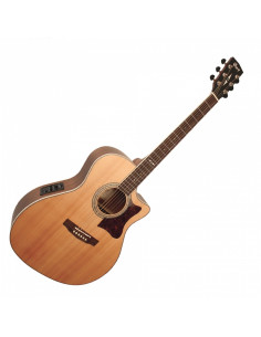 Cort - GA5F NS Natural Satin Electro-Acoustic Guitar