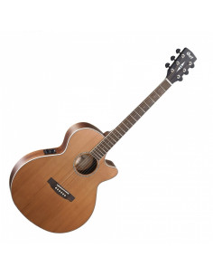 CORT - SFX-CED NS Natural Satin Electro-Acoustic Guitar