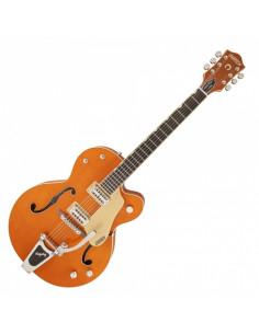 Gretsch - G6120SSLVO Brian Setzer Nashville, Ebony Fingerboard, Vintage Orange Lacquer With Case