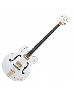 Gretsch - G6136LSB White Falcon Bass, Ebony Fingerboard, White