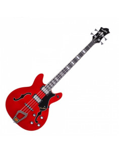 Hagstrom - Viking Basse Cherry Transparent