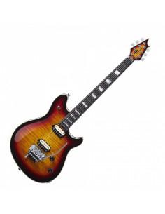EVH - Wolfgang USA, Ebony Fingerboard, 5A Flame Top, 3-Tone Burst