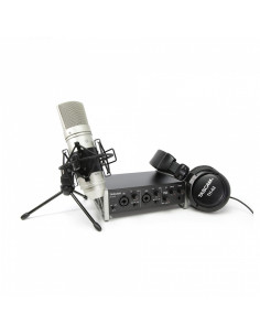 Tascam - US-2X2TP Trackpack 2x2 : ea. 1 x US-2x2/TH-02/TM-80