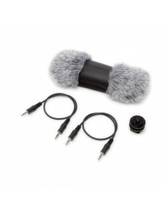 Tascam,AK-DR70C Accessory-Pack DR-70D: Windscreen,StereoMini-Jack-Cable,Shoe-Mount