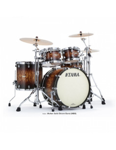 Tama - MA42TZS-MBB Starclassic Maple Molten Satin Brown Burst 4pc shell kit