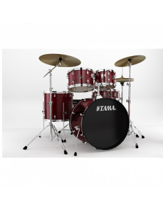 Tama - RM52KH6C-RDS Rhythm Mate Red Stream 5pc shell+6pc HW kit
