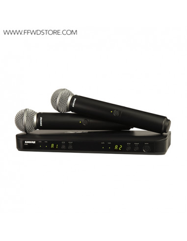 Shure - Blx288e/Sm58 Dual Channel Handheld Wireless System