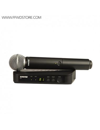 Shure - Blx24e/Sm58 Handheld Wireless System