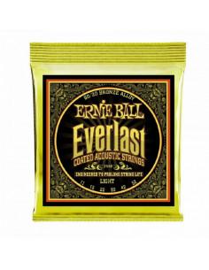 Ernie Ball - 2558 Everlast Light Coated 80/20 Bronze Acoustic Guitar Strings