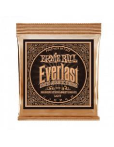 Ernie Ball - 2548 Everlast Light Coated Phosphor Bronze Acoustic Guitar Strings