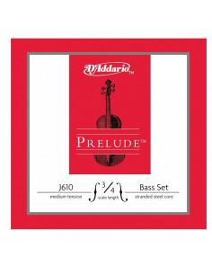 D'addario - EJ61  5-String Banjo, Nickel, Medium, 10-23