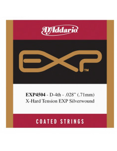 D'addario - EXP45 Coated, Normal Tension