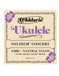D'addario - EJ88C Nyltech Ukulele, Concert