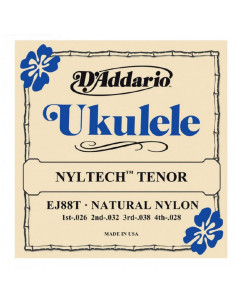 D'addario - EJ88T Nyltech Ukulele, Tenor
