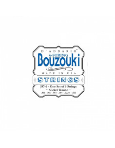 D'addario - J97 Greek Bouzouki, 8-String, Nickel Wound