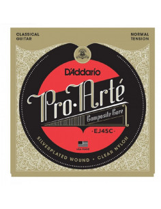 D'addario - EJ45C Pro-Arté Composite, Normal Tension