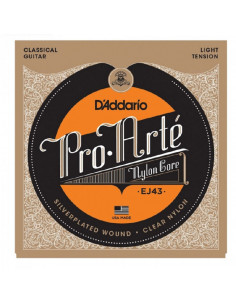 D'addario - EJ43 Pro-Arté Nylon, Light Tension