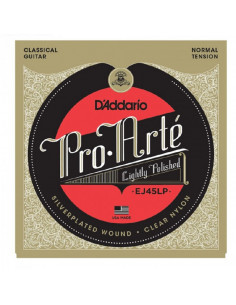 D'addario - EJ45LP Pro-Arté Lightly Polished Composite, Normal Tension