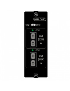 Soundcraft - Si Series MADI option card - multi mode Optical