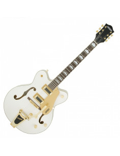 Gretsch,G5422TG Electromatic Hollow Body Double-Cut with Bigsby Snowcrest White