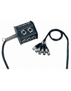 Adam Hall - Cables K 8 C 15 P - Boîtier de Scène 8/0 15 m