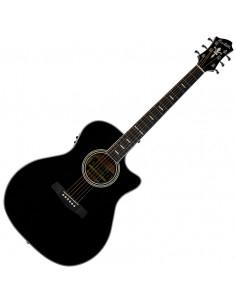 Hagstrom - Siljan II E/Acoustic Black