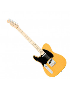 Fender - American Pro Telecaster Left-Hand, Maple Fingerboard, Butterscotch Blonde