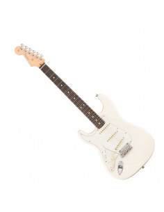 Fender - American Pro Stratocaster Left-Hand, Rosewood Fingerboard, Olympic White
